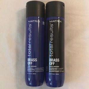 Matrix Brass Off Shampoo and Conditioner